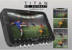 Titan: transform one 4K in three HD