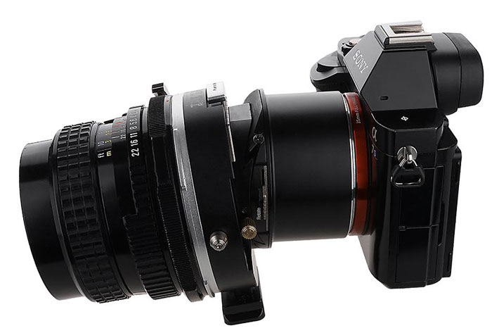 Fotodiox Pro TLT ROKR adapters: tilt and shift for the masses