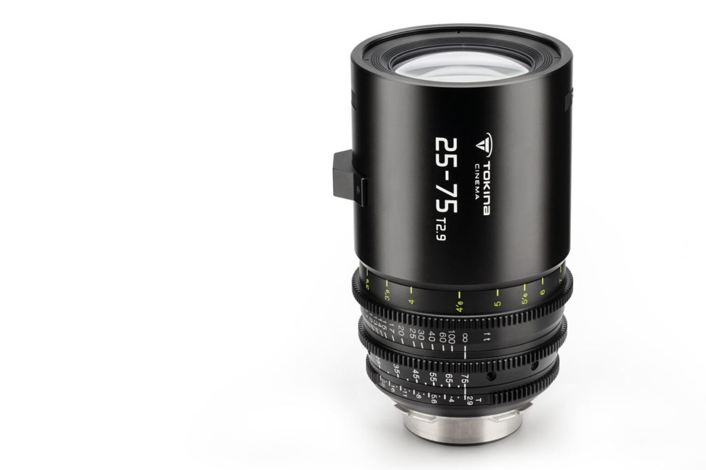 The all new Tokina 25-75mm T2.9 is finally coming