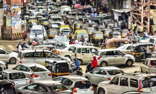 Atmospheres - Mumbai traffic