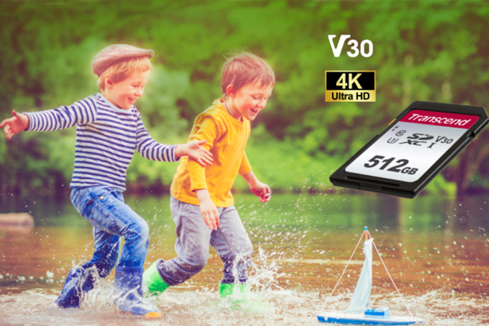 Transcend: new SD 500S cards for action cameras and drones
