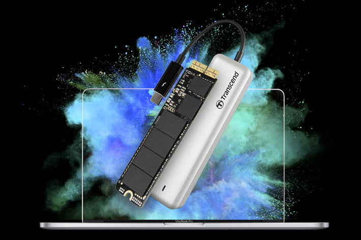 Transcend introduces the JetDrive 825 portable Thunderbolt SSD for Mac