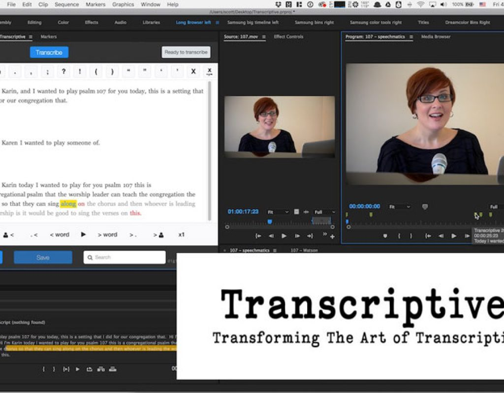 Review: Digital Anarchy Transcriptive - automated transcription for Adobe Premiere Pro 1