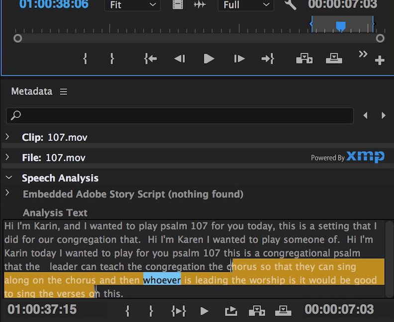 Review: Digital Anarchy Transcriptive - automated transcription for Adobe Premiere Pro 23