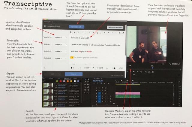 Transcriptive - A transcription panel coming to Adobe Premiere Pro CC 3