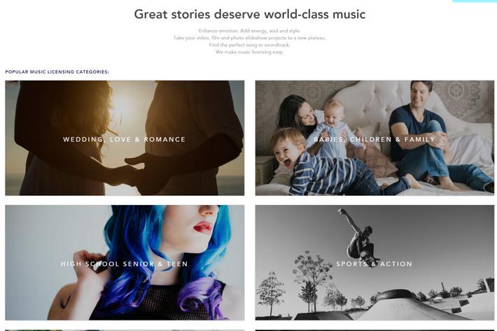 Triple Scoop Music: membership plans for music licensing