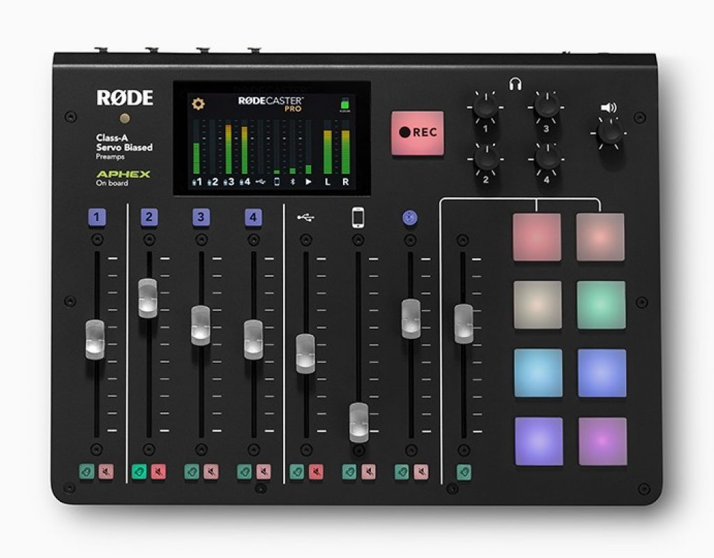 RØDECaster Pro audio console-first look 1