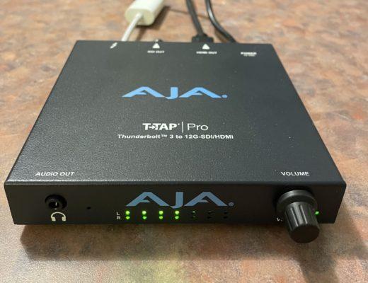 Review: AJA T-Tap Pro 6