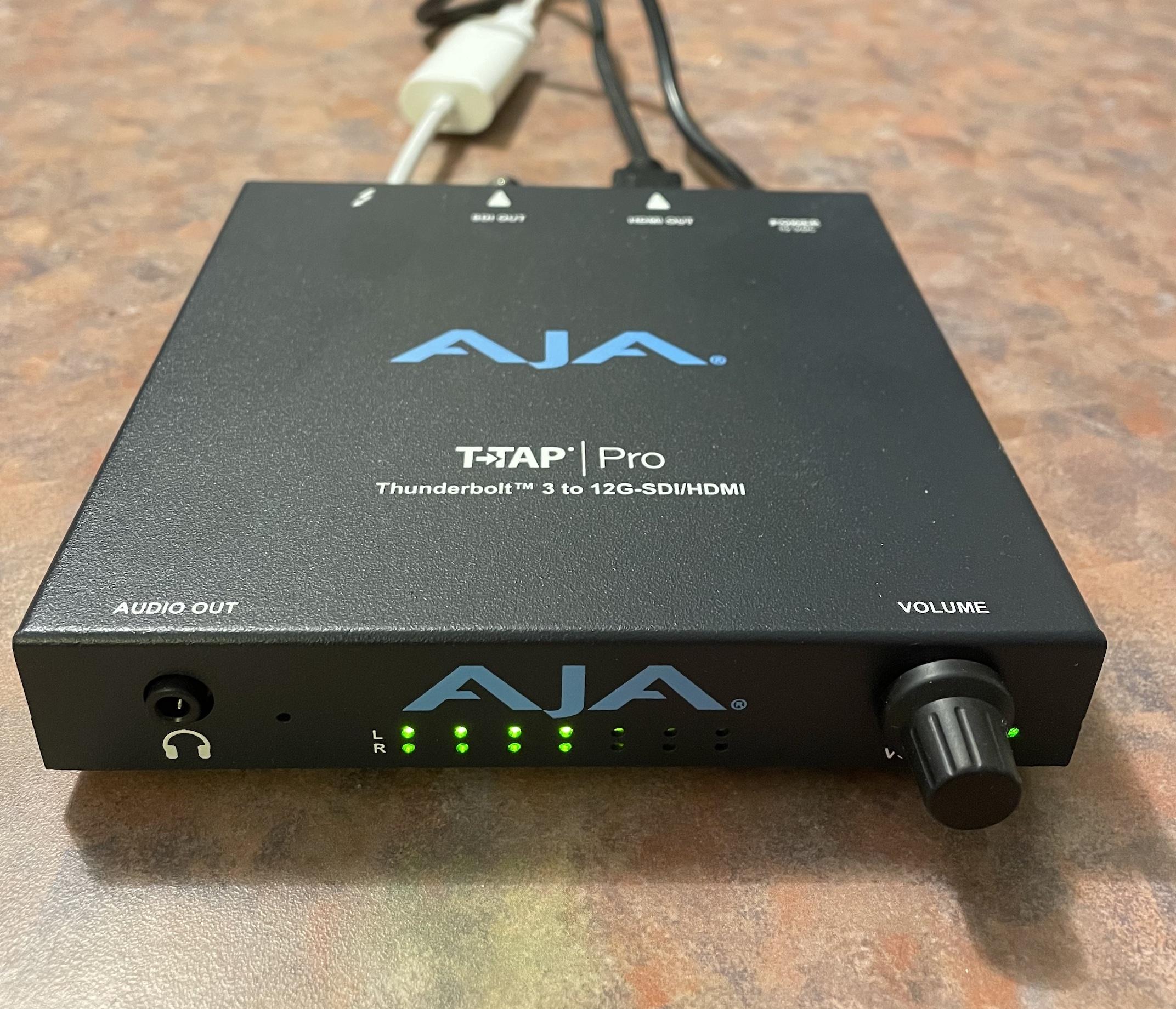 Review: AJA T-Tap Pro 23