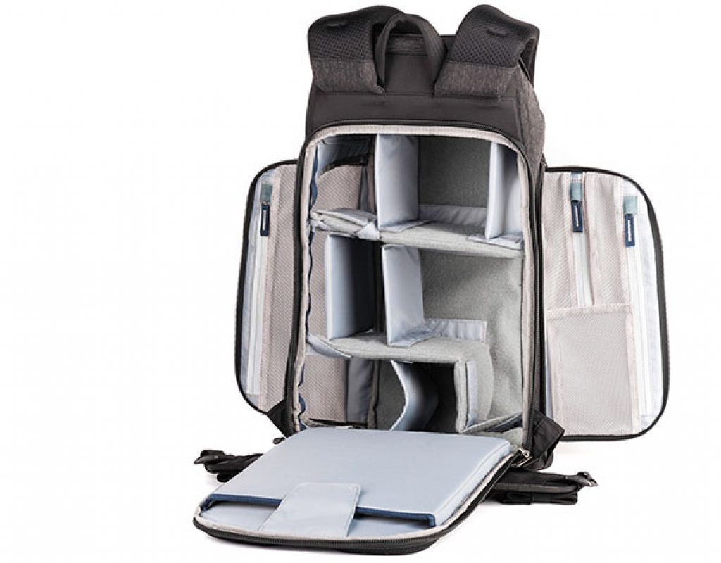 Urban Access backpacks: easy to pack and easy to access
