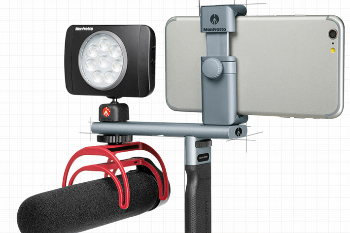Manfrotto TwistGrip: a new rig for smartphones