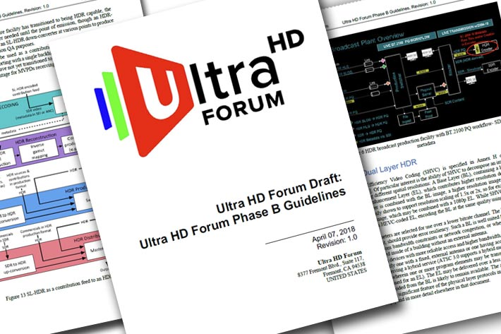 Next wave of UHD technologies announced at NAB 2018