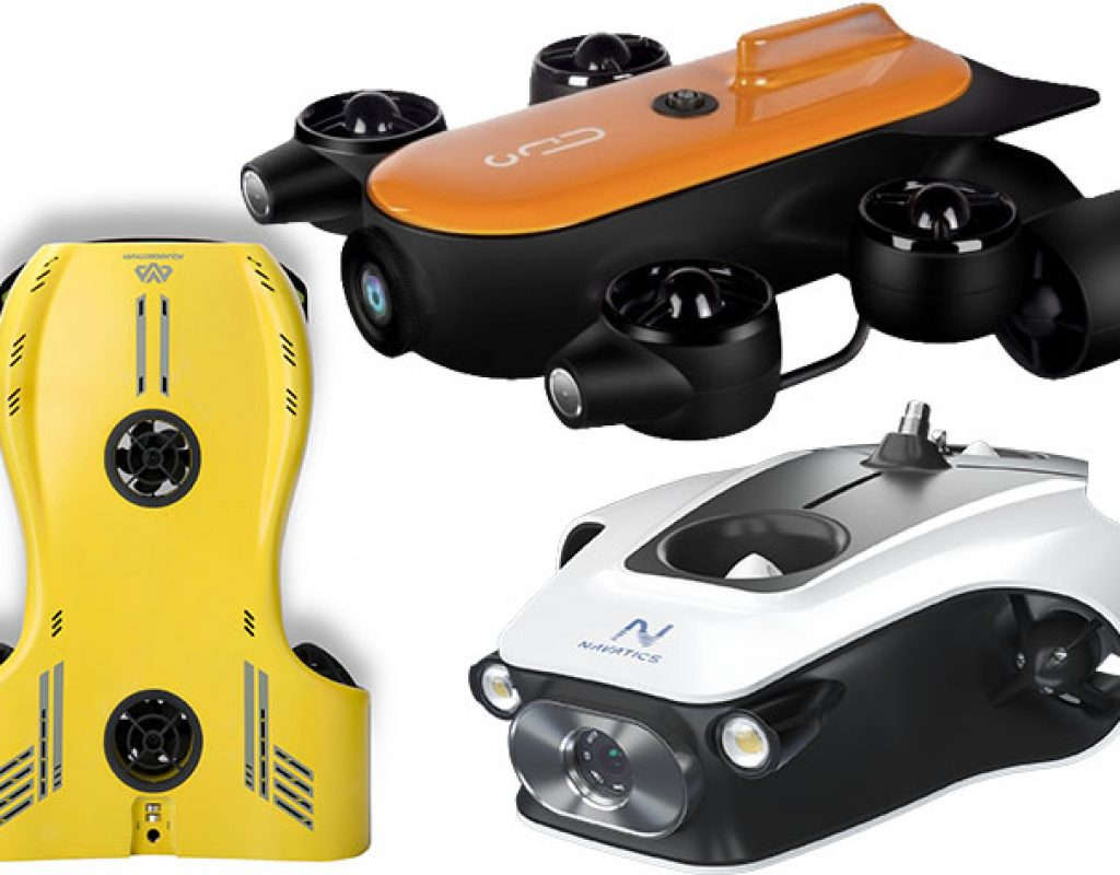 Nemo, Titan and Mito: three new 4K underwater drones for filmmakers