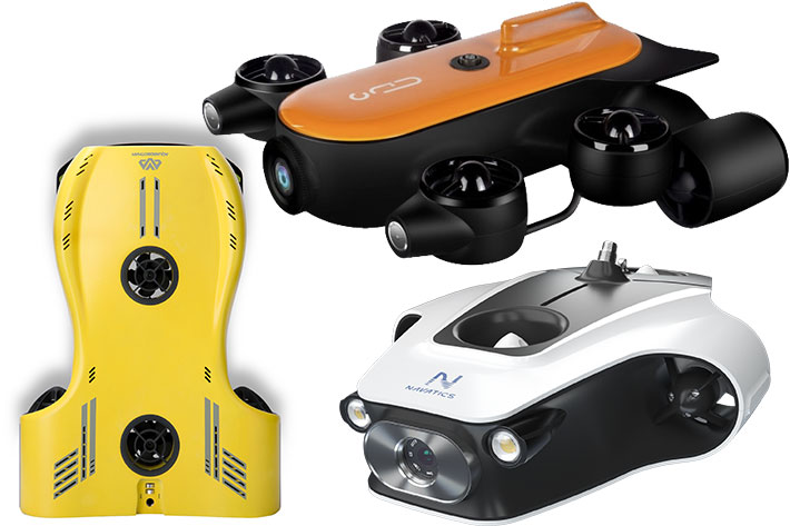 Nemo, Titan and Mito: three new 4K underwater drones for filmmakers 17