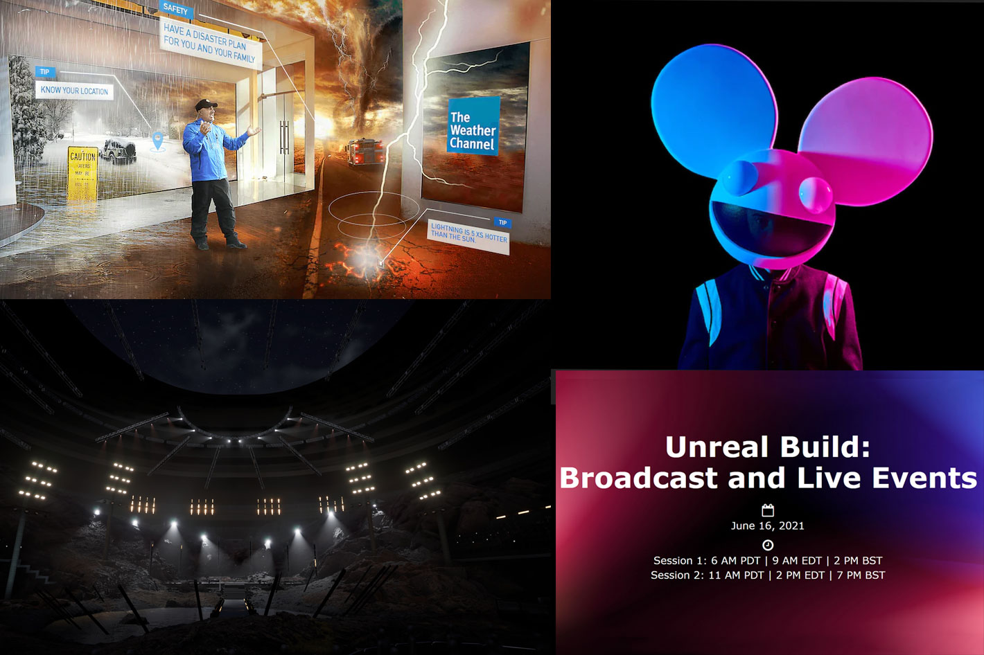 Unreal Build: Broadcast & Live Events, a free virtual event on June 16th