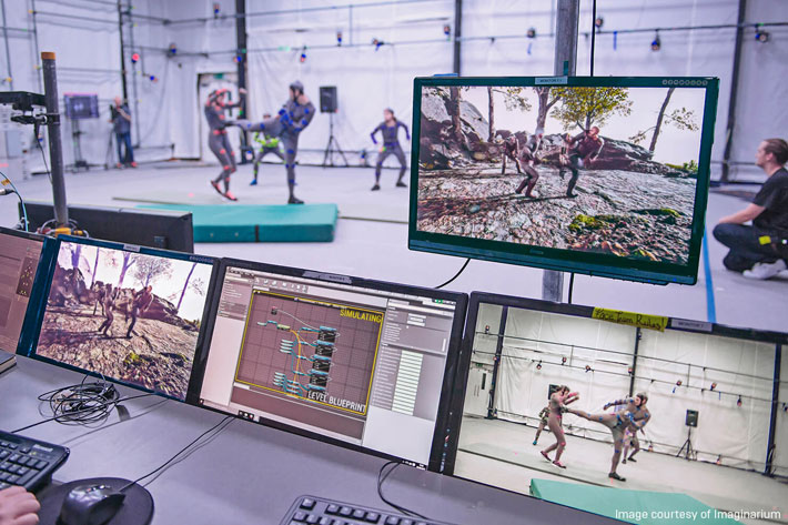 Real-time workflows for film, TV, VR and AR using Unreal Engine technology