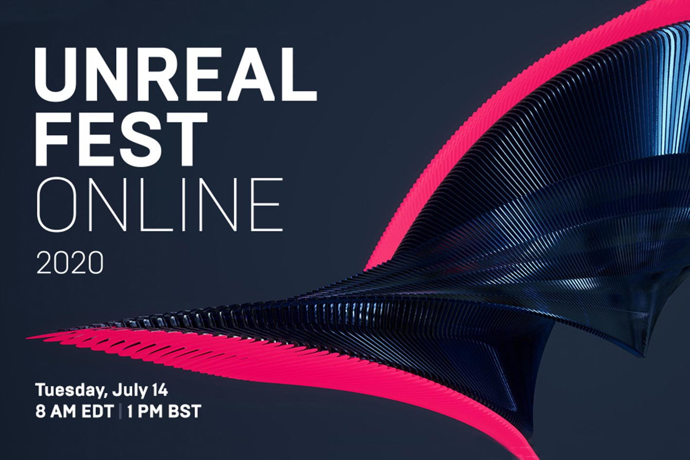 Unreal Fest Online: 10 sessions for Film, TV and Live Events professionals
