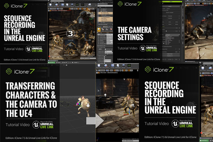 iClone Unreal Live Link plug-in is now free for independent creators 1