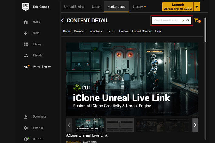 iClone Unreal Live Link plug-in is now free for independent creators 2