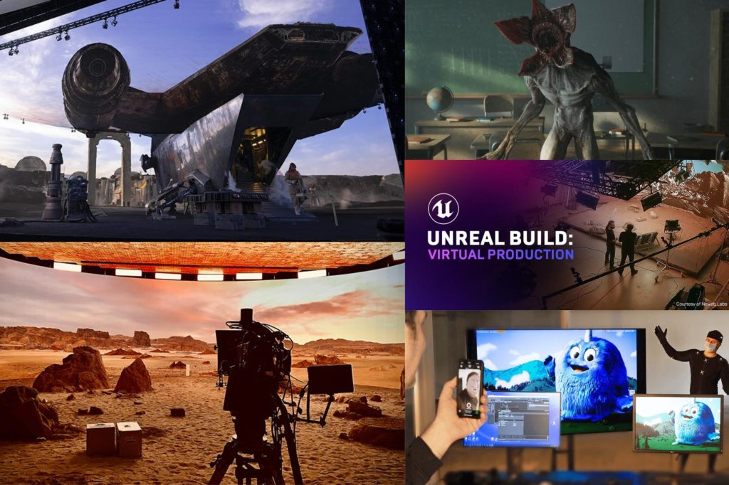 Unreal Build: Virtual Production, a free online event