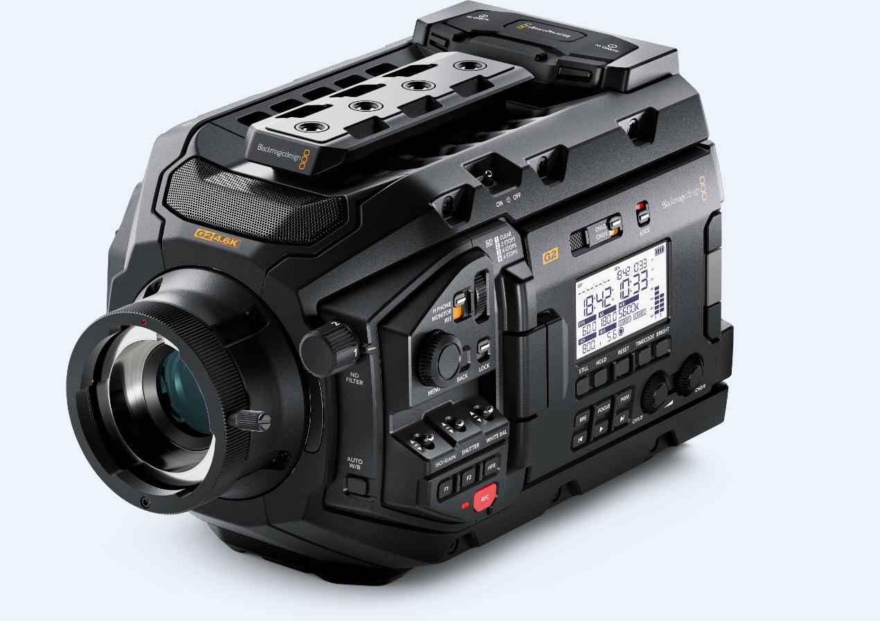 Blackmagic Design Updates Usra Mini Pro G2 With Firmware 6 4