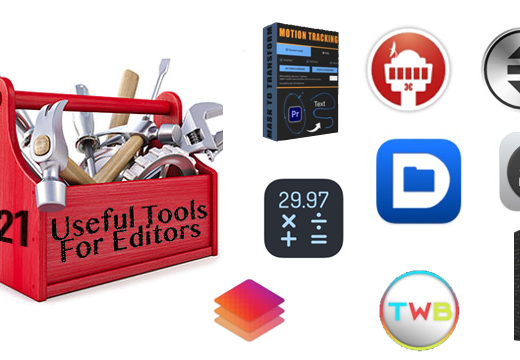 Useful Tools for Editors: Welcome 2021 Edition 11