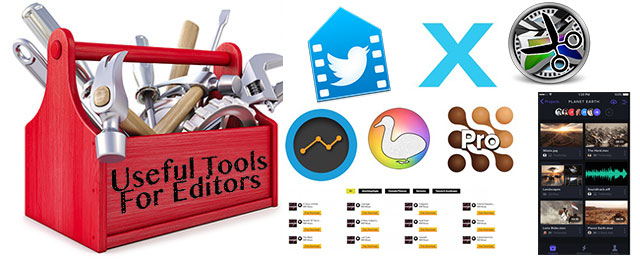 Useful Tools For Editors: Now Shipping Edition 16