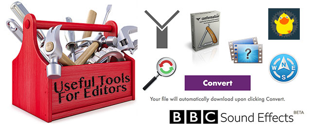 Useful Tools for Editors - Summer 2018 edition 2