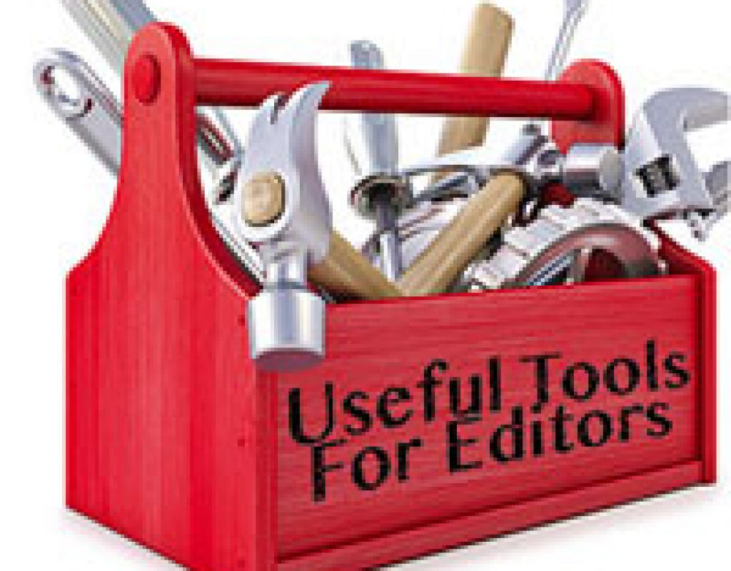 Useful Tools for Editors - Back to School Edition 1