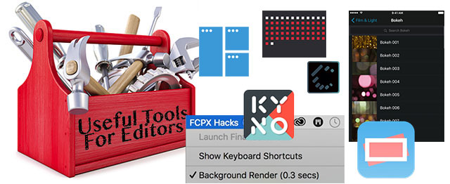 Useful Tools for Editors - Useful Hacks Edition 7