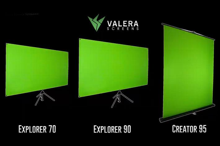 Valera Screens shows mobile green screens for content creators at CES 2019