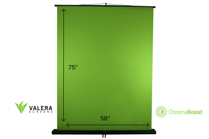 Valera Screens shows mobile green screens for content creators at CES 2019