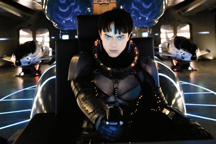 Valerian: Luc Besson's hero drives a Lexus