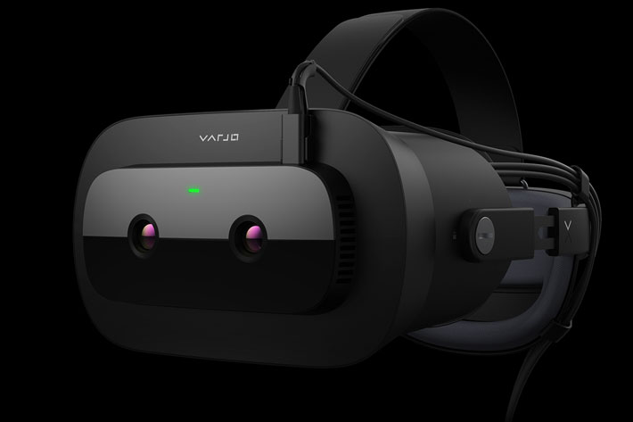 Varjo XR-1: the world's first VR headset with chroma key