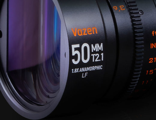 Vazen has a new 50mm T2.1 1.8X anamorphic lens for full frame
