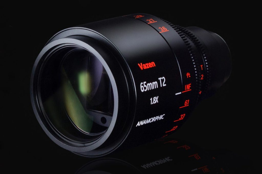 Vazen 65mm T2 1.8x Anamorphic lens for Micro Four Thirds