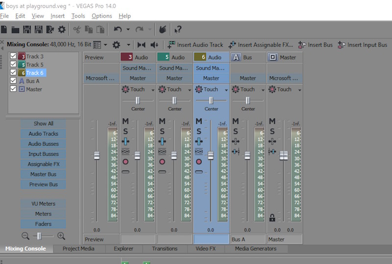 An in-depth discussion about Magix VEGAS Pro by Scott
