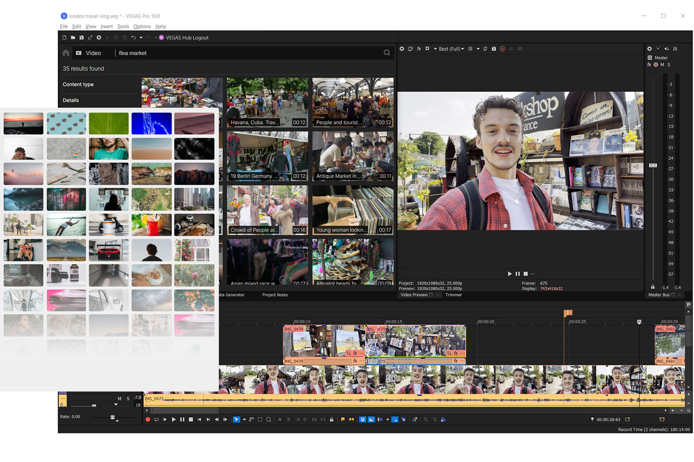 VEGAS Pro 19: new version has new pricing and new features