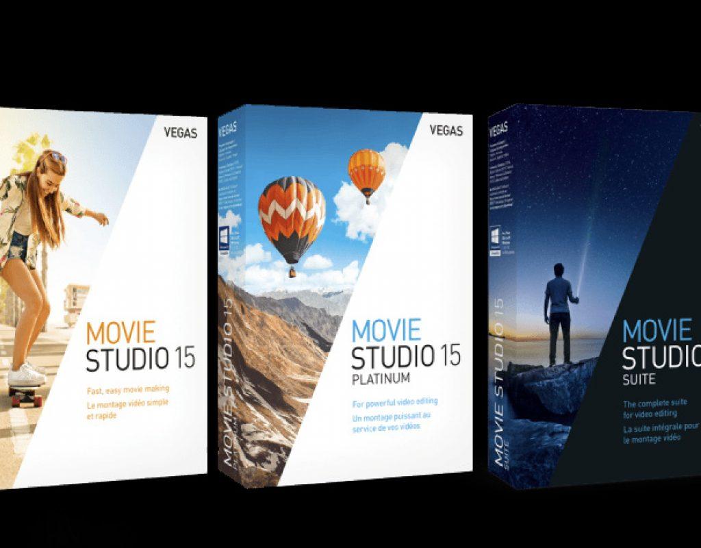 VEGAS Movie Studio 15: VEGAS Pro for everyone 1