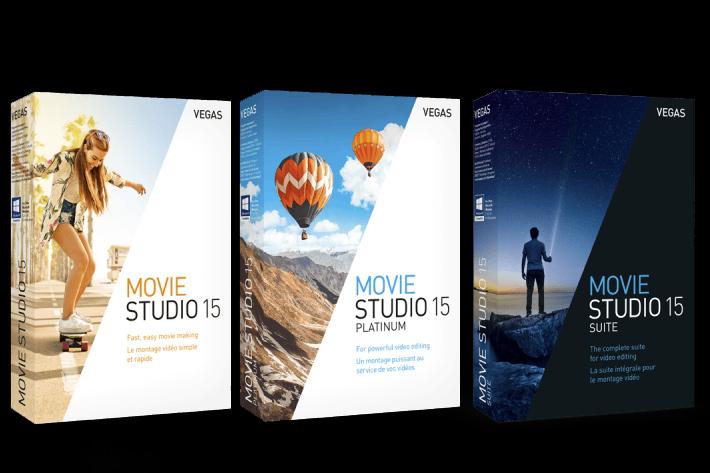 VEGAS Movie Studio 15: VEGAS Pro for everyone 4