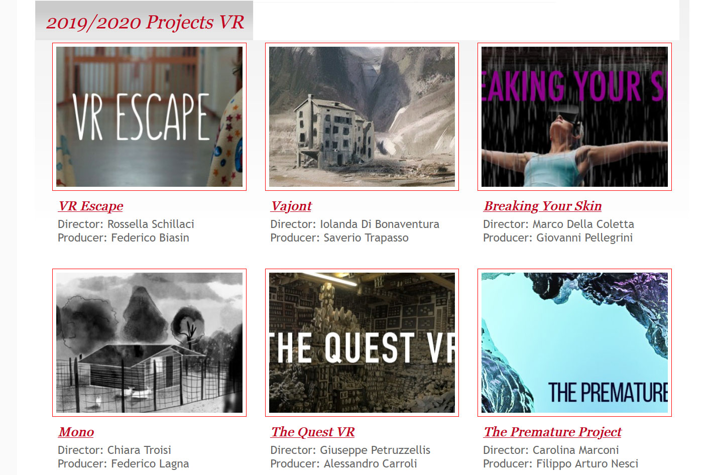 Venice International Film Festival: a call for emerging filmmakers