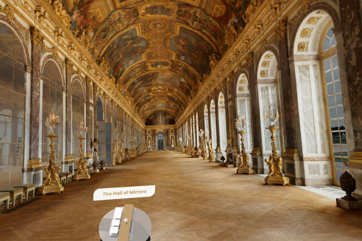 The Palace of Versailles: going behind the scenes of a VR production 2