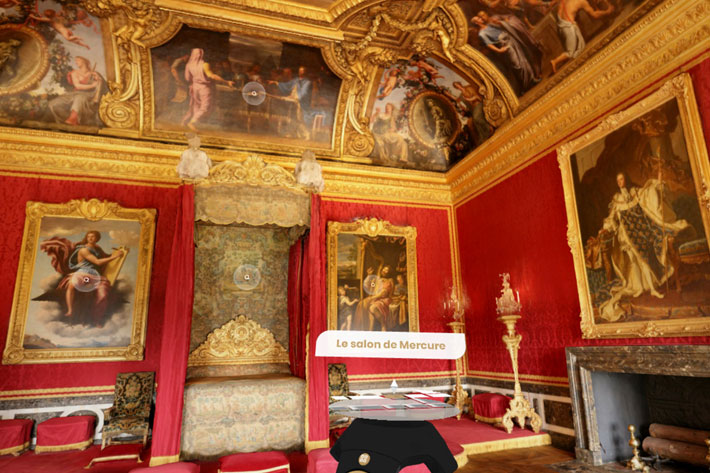 Palace of Versailles: going behind the scenes of a VR production