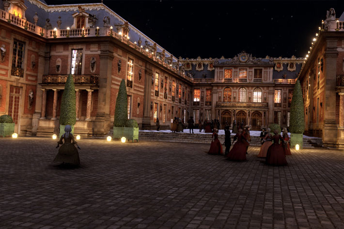 The Palace of Versailles: going behind the scenes of a VR production 5