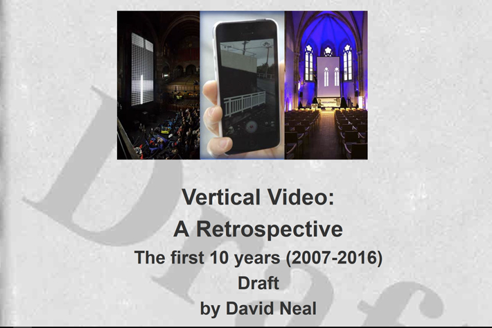 Vertical video: new opportunities for filmmakers