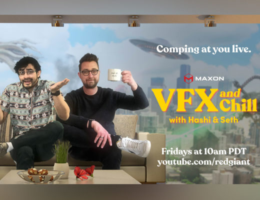 VFX and Chill: Maxon's new live talk show starts this May