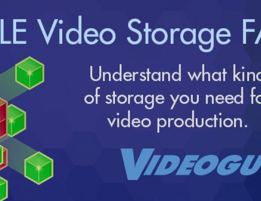 FAQ for video production storage