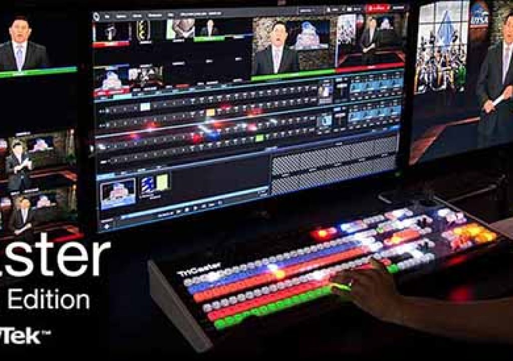 Top 10 Products for Live Production using NewTek TriCaster 1