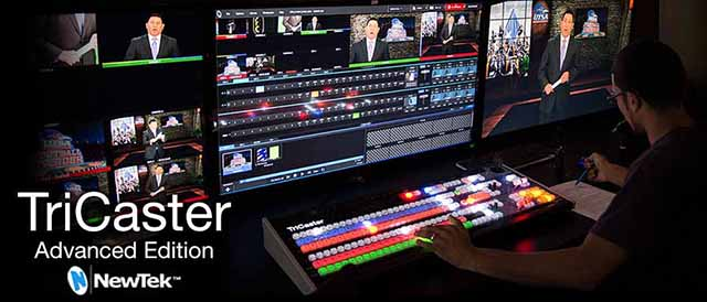 Top 10 Products for Live Production using NewTek TriCaster 4