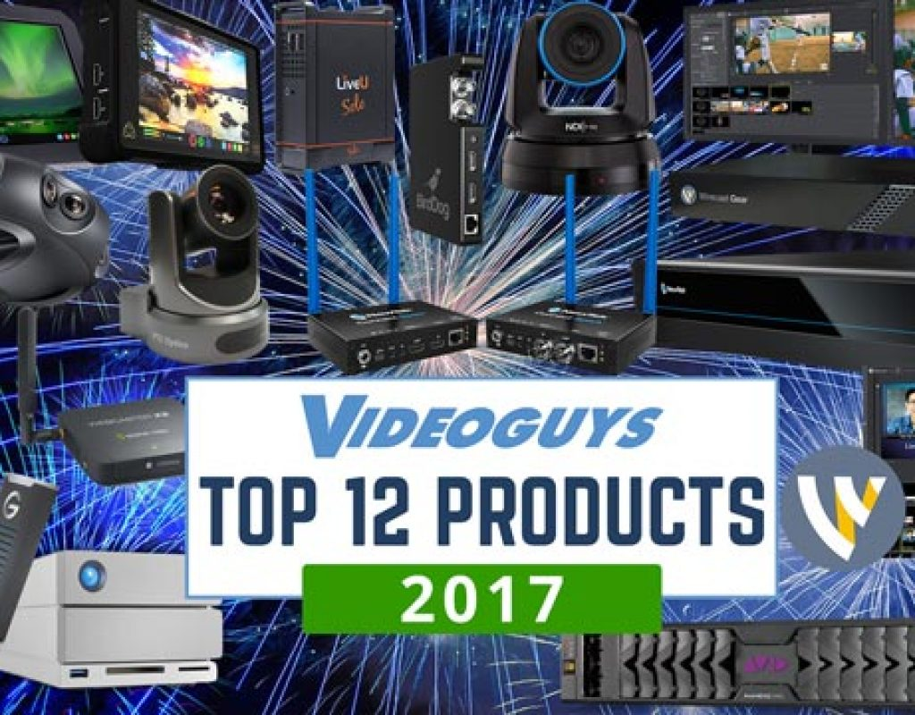 top products for video production